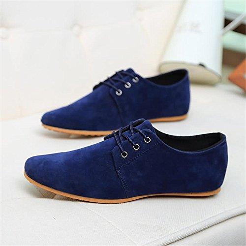 Casual Hombres Zapatos los El Barco Shufang con del aprovecha los para mocasín Moda conducción Mocasines Azul Mocasines Superior shoes de Zapatos de el de 2018 de del Hombre Estilo Cuero 1xZZw8q5