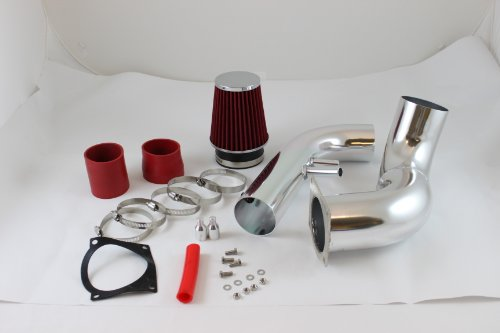 96 97 98 99 00 01 02 03 04 Ford Mustang 4.6l V8 Cold Air Intake Red (Included Air Filter) #Cai-fd005r