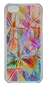 Intersections Personalized Custom Hardshell Back Case for iphone 5C Transparent -1126008