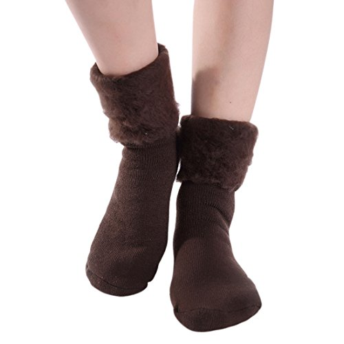 caffè Woman Calzino Sock inverno caldo Acvip denso C6waXqw8x