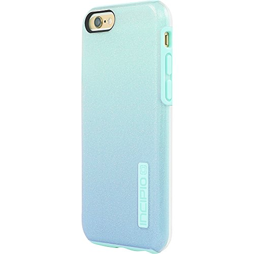 best service 2e644 1da63 Amazon.com: Incipio DualPro Glitter for iPhone 6/6s Plus (Black ...