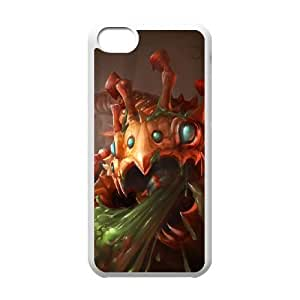 iPhone 5c Cell Phone Case White League of legends KogMaw Custom KHJSFNUJF7075