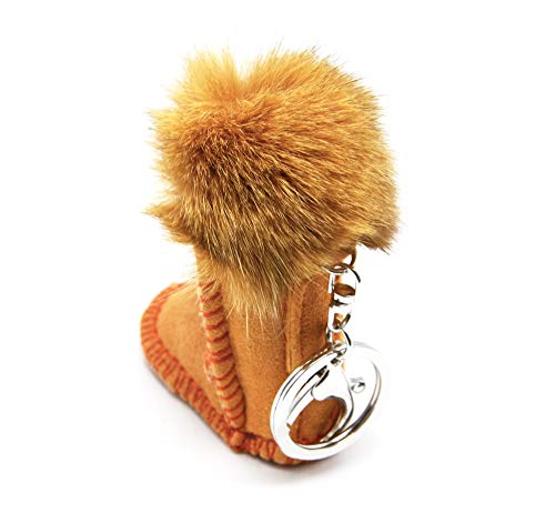 Oh My Porte bijou Bottine Effet De Avec Pompon Boot Pt1777e Beige Shop Sac clés Daim twtdcrpWq