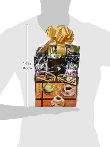 Gift Basket Village Cafe Coffee Lovers Gift Basket, 4 Pound