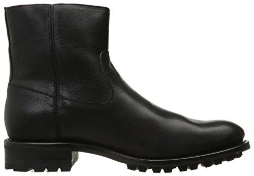Frye Mens Stanton Esterno Zip Boot Moto Nero
