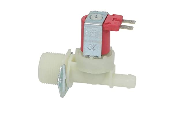 Electroválvula 12 V. Carga agua lavadora 1 vía 180° universal ø ...