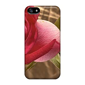 New IJv24518apWM Beautiful Garden Rose Covers Cases For Iphone 5/5s