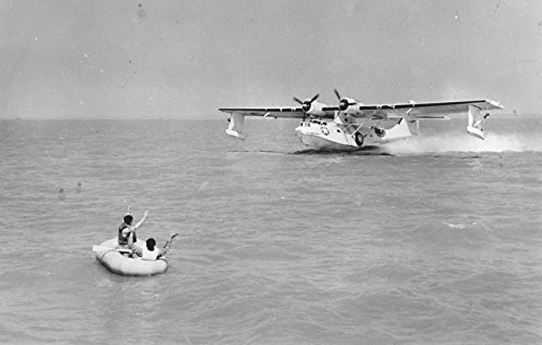 Home Comforts A USAAF Consolidated OA-10A Catalina (USAAF designation of the PBY) landing off Keesler Field, (Catalina Landing)