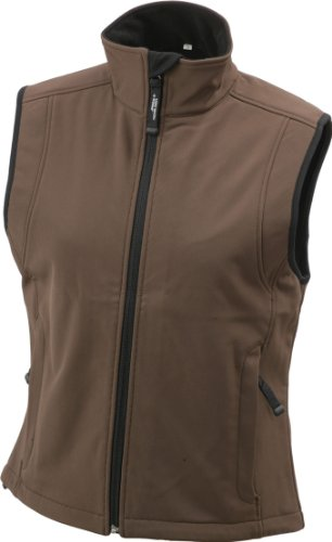 Strati Funzionale Softshell In Tessuto Membrana Gilé A Ladies' Tre Brown Vest YnwpYd8q