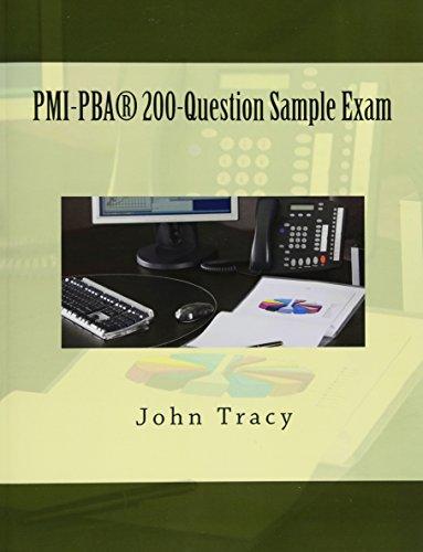 PMI-PBA 200-Question Sample Exam