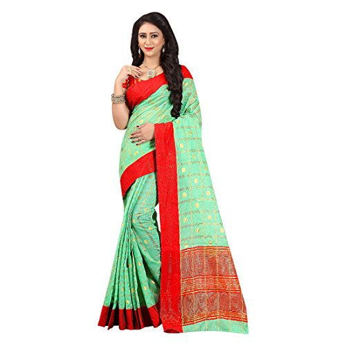 casual Ladies Original Work tradizionale Indiano Blouse Sari Donne Jari 100 Petticoat Dress Saree Cotton 2809 Girl v7wqHw