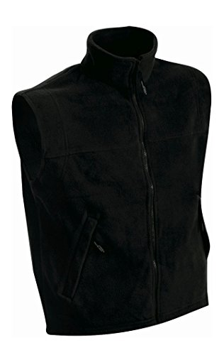 Gilé Black Pesante Vest Termico In Fleece fqZwfBrv