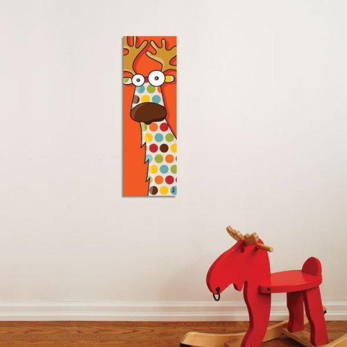 Reindeer Color Canvas Print