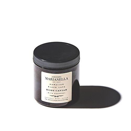 Hawaiian Black Lava Premium Body Caviar, Luxury Artisanal Wonderfully Scented Oil for Men and Women, Made in the USA 8 oz