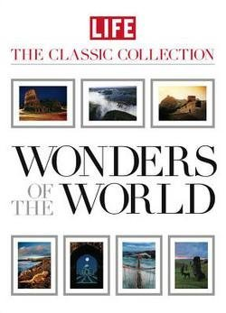 Wonders of the World : 50 Must-See Natural and Man-Made Marvels [With 7 Removable Vintage Prints] (Hardcover)--by Robert Sullivan [2009 Edition]