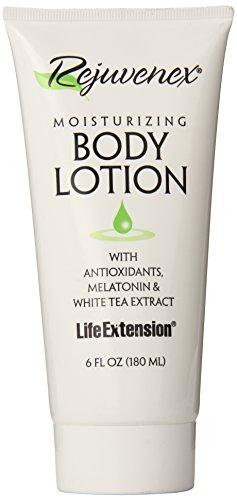 Melatonin Body Cream - Life Extension Rejuvenex Body Lotion, 6-Ounce