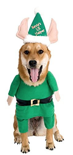 Rubie's Santa's Helper Pet Costume, X-Large