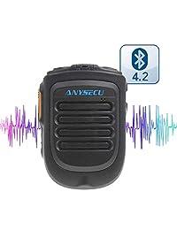 2018 Nuevo lanzamiento Bluetooth Versión 4.2 Micrófono B01 para W7 W7plus T-320 Trabajo de radio con PTT real / Zello PTT Micrófono de mano inalámbrico