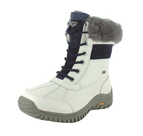 de Ugg Invierno Australia Piel Boot blanco II Adirondack Arranque qYnq76Z