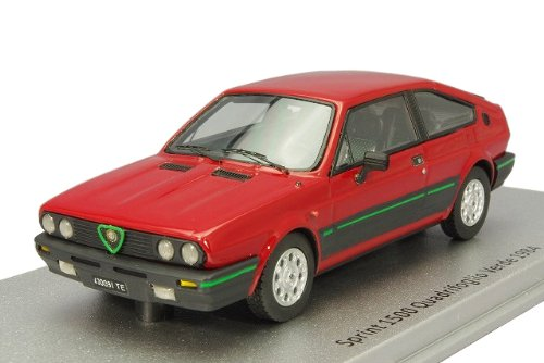 KESS 1/43 Alfa Romeo Sprint 1500 network dance folio Verde 1984 Red (japan import) (Sprint Networks)