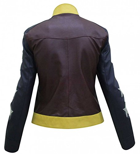 Maroon and Prince Leather Jacket Blue Wonder Diana Woman qYWnAwXHp