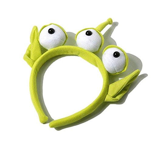 Alien Headband Plush Toy Story Furry Monster Headband Costume Alien -