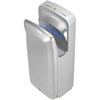 Silver Handy Dryers Crocodillo T2 Hand Dryer