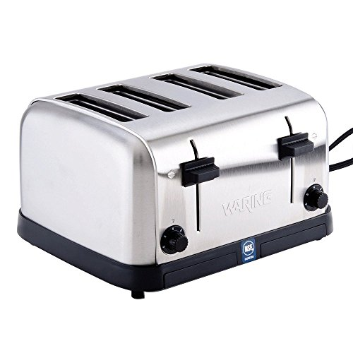 Waring  (WCT708) Four-Compartment Pop-Up Toaster ()