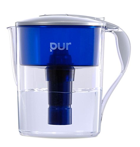 PUR Classic 11-Cup Water Filter Pitcher with LED and 4 BONUS