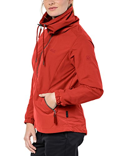 Red Wolfskin Resistant Volcano Westwood Water Jacket ladies Jack Proof Vento Womens vdRFvTxq