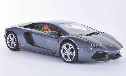 Lamborghini Aventador LP700-4, met.-grau, 2011, Modellauto, Fertigmodell, AUTOart 1:18