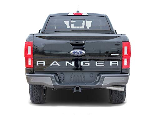 (MoProAuto Pro Design Series Tailgate Inlay : 2019-2020 Ford Ranger Tailgate Name Decals Text Vinyl Graphics Kit (FITS All Models) (Color-3M 16812 Matte Black))