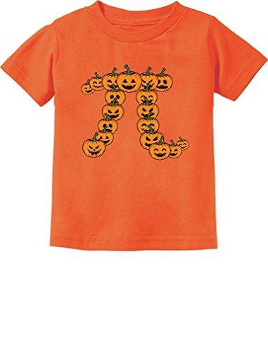 TeeStars - Pumpkin Pi Halloween Pumpkin Pie Funny Toddler Kids T-Shirt 2T Orange]()