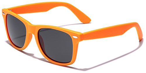 Retro Rewind Classic Polarized Sunglasses, Orange | Smoke Polarized]()