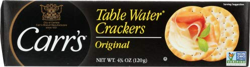Carrs Table WaterCrackers 4.25 OZ (Pack of 12)