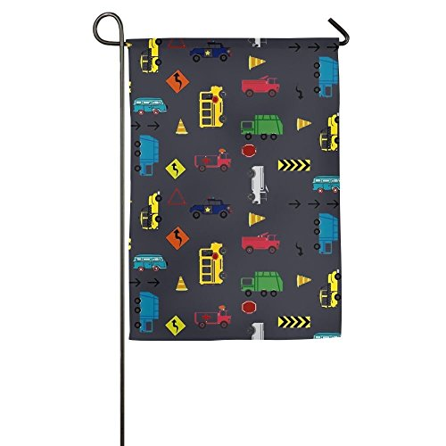 Love fled Car Spring Garden Flags Decorative 12 X 18 Emblemi