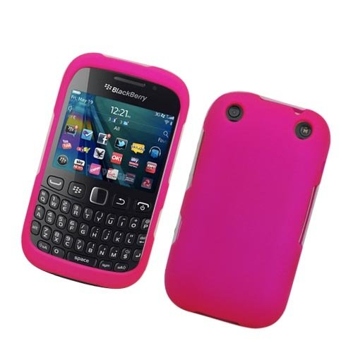 (Verizon/ Boost Mobile) Blackberry Curve 9310 9320 - Pink Hard Case Protective Cover+ Lf Stylus Pen + Lf Screen Wiper ()
