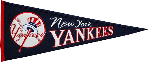 MLB New York Yankees Medium Throwback Pennant