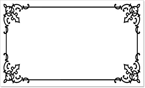 Permanent Write On Labels - 40 Premium Luxury Decorative Write-On Permanent Rectangle Labels Self-Adhesive Stickers 2.5 x 1.5 Inches, White Matte Finish for Bottles, Jars, Files, Boxes, Storage, and Organization (Rexford)