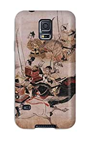 Top Quality Shock Absorbing Case For Galaxy S5-japanese Art