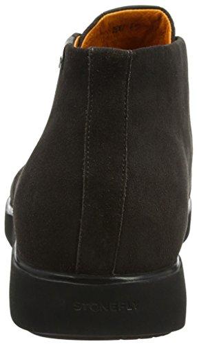 Grau Velour Charcoal 1a12 6 Stonefly Desert Herren Boots Town cUYxwtqp