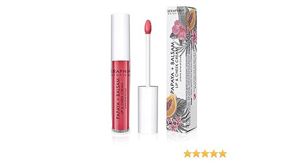 Seraphine Botanicals crema para labios y mejillas en guayaba suave