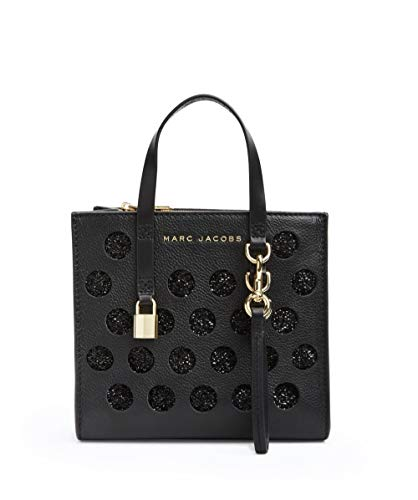 Marc Jacobs The Negro Tote Mini Mujeres Perforated Bag Grind nTfdOnxr