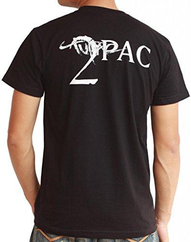 Tupac Shakur - 2Pac T-Shirt Small Black