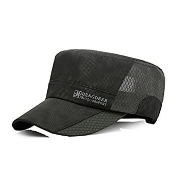 Donna Pierce Stylish Caps Mens Flat Baseball Cap Breathable Quick Dry Gorras Bone Snapback Hats for