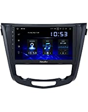 Dasaita 10.2 Inch Android 10.0 Autoradio Bluetooth Handsfree Kit voor Nissan Qashqai J11 X-Trail Rouge 2014 2015 2016 2017 2018 DAB+ Autoradio met GPS USB Carplay Android Auto