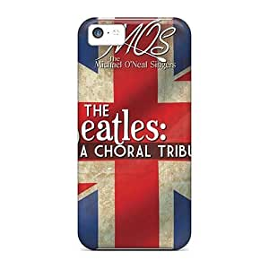 MMZ DIY PHONE CASEScratch Protection Cell-phone Hard Cover For ipod touch 5 (Ptf8582oSlu) Custom Fashion The Beatles Pictures