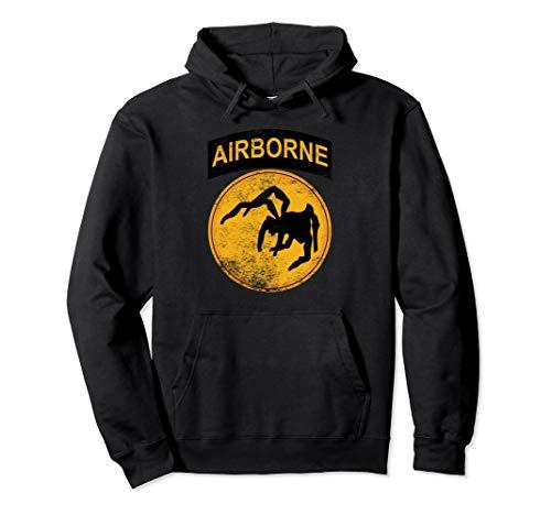 WW2 135th Airborne Division Parachute Hooded Sweatshirt ()