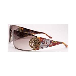 Ed Hardy EHS-039 Love Kills Slowly 3 Sunglasses - Tortoise/Brown
