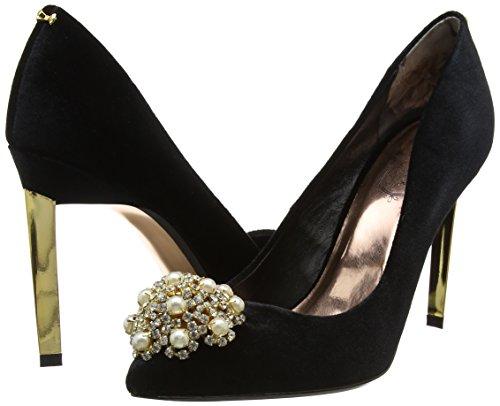 black Closed Black Peetch Heels Women''s Baker toe Ted CYftq0wC